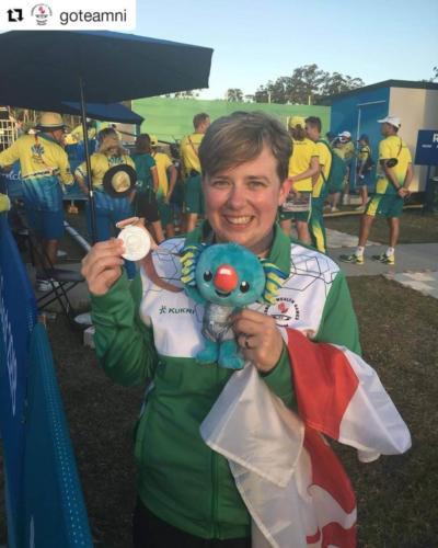 Silver Medal Winner!